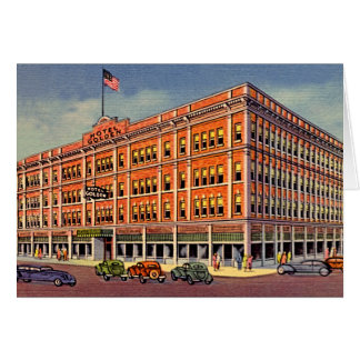 Hotel 1906 de oro de Reno, Nevada Tarjeta De Felicitación