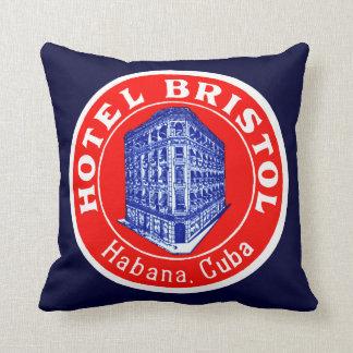 Hotel 1930 Bristol Cuba Cojín