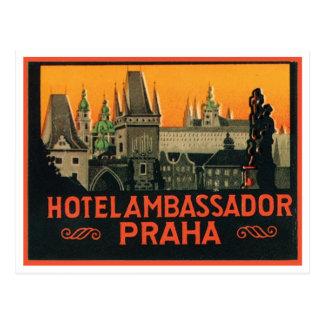 Hotel Ambassador Praha Postcard