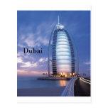 Hotel árabe del Al de Dubai Burj (por St.K) Postal