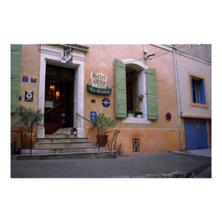 Hotel, Arles, Provence Poster