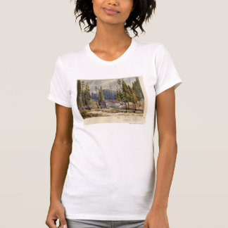 Hotel at the Grove of Mamoth Trees Tee Shirt