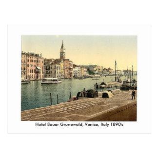 Hotel Bauer Grunewald, Venecia, Italia 18… Postal