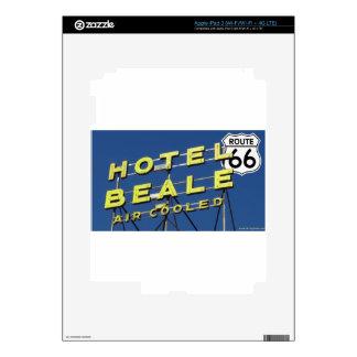 Hotel Beale Route 66 Kingman Arizona iPad 3 Skin