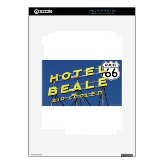 Hotel Beale Route 66 Kingman Arizona iPad 2 Decal