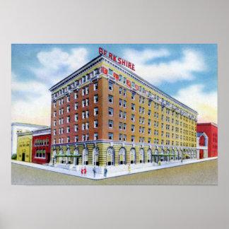 Hotel Berkshire de Pennsylvania de la lectura Posters