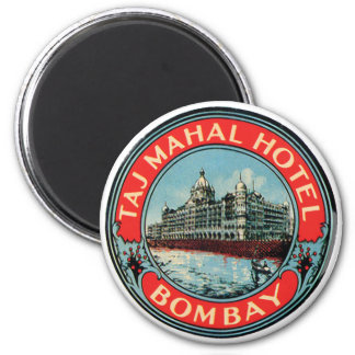 Hotel Bombay del Taj Mahal Imán Redondo 5 Cm