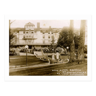 Hotel Breslin, Hopatcong, vintage 1910 de NJ Postales