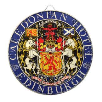 Hotel caledonio Edimburgo Escocia del viaje del Tabla Dardos