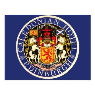 Hotel caledonio Edimburgo Escocia del viaje del vi Postal