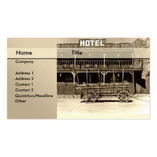 hotel \ cama - y - desayuno \ parador tarjetas de visita