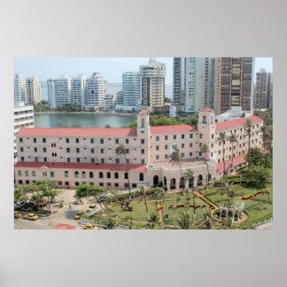Hotel Caribe,Cartagena.Colombia. Poster