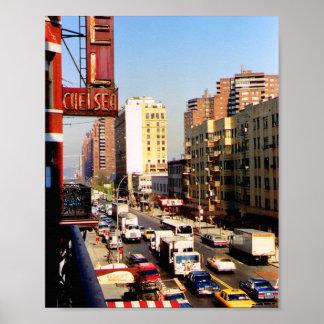 Hotel Chelsea 8 x 10 New York City Print