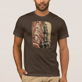 Hotel Chelsea NYC Watercolor T-Shirt