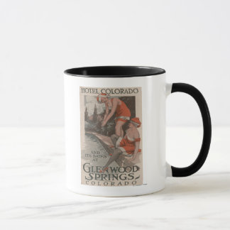 Hotel Colorado & Baths Poster Mug