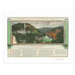 Hotel Colorado Brochure Postcards