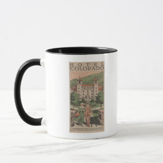 Hotel Colorado Travel Poster Mug