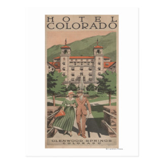 Hotel Colorado Travel Poster Post Cards