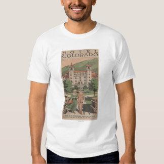 Hotel Colorado Travel Poster T-shirt