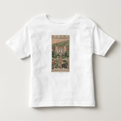 Hotel Colorado Travel Poster T-shirts