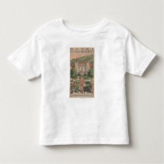 Hotel Colorado Travel Poster Toddler T-shirt