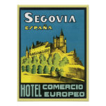 Hotel Comercio Europeo de Segovia Espana Impresiones