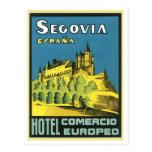 Hotel Comercio Europeo de Segovia Espana Postal