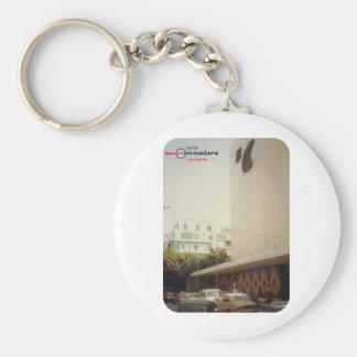 Hotel Commodore Beirut Basic Round Button Keychain