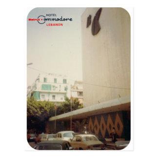 Hotel Commodore Beirut Postcard