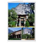 Hotel de Ahwahnee en el parque nacional de Yosemit Tarjeta