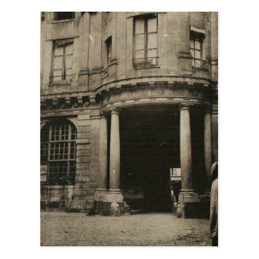 hotel de beauvais paris 1926 replica postcard zazzle. Black Bedroom Furniture Sets. Home Design Ideas