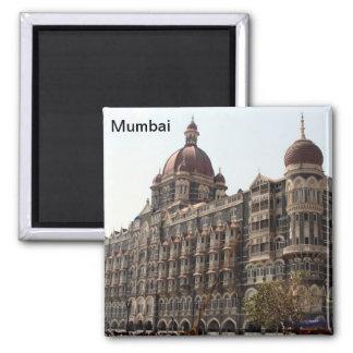 hotel de Bombay Imán Cuadrado