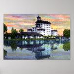 Hotel de Colorado Springs Colorado Broadmoor Poster