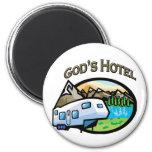 Hotel de dioses imán para frigorifico