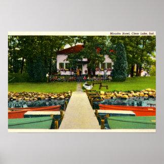 Hotel de Fremont Indiana Mirador en el lago claro Impresiones