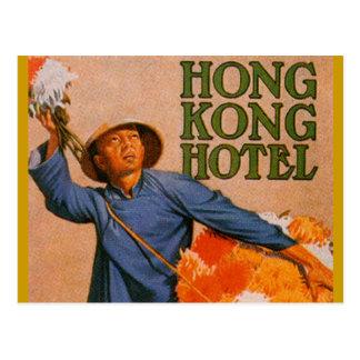 Hotel de Hong Kong Tarjeta Postal