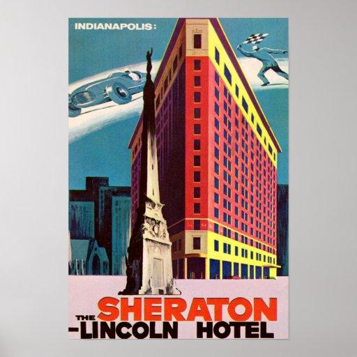 Hotel de Indianapolis Indiana Lincoln Impresiones