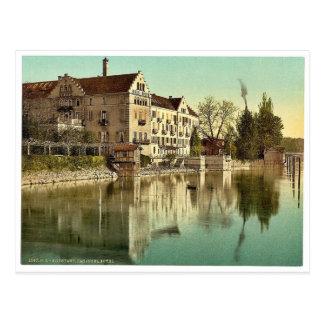 Hotel de Insel, Constance (es decir Constanza), Ba Tarjeta Postal