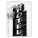 Hotel de la angustia tarjetón