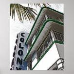 Hotel de la colonia, Miami, FL Poster