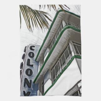 Hotel de la colonia, Miami, FL Toallas De Mano