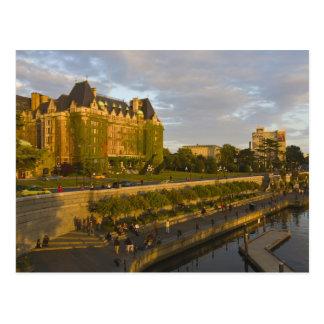 Hotel de la emperatriz y costa interna del puerto, tarjetas postales