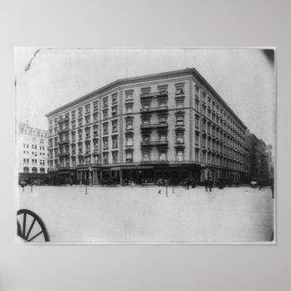 Hotel de la Quinta Avenida, Nueva York, N.Y. Póster