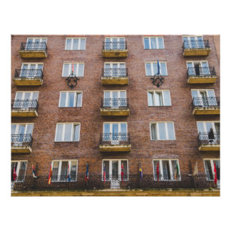 "Hotel de la regencia de Budapest Folleto 8.5"" X 11"""