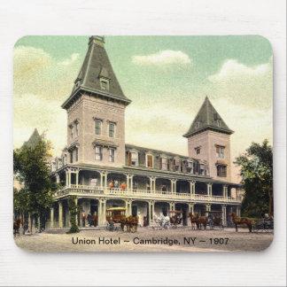 Hotel de la unión, Cambridge, cojín 1907 de ratón  Alfombrillas De Raton