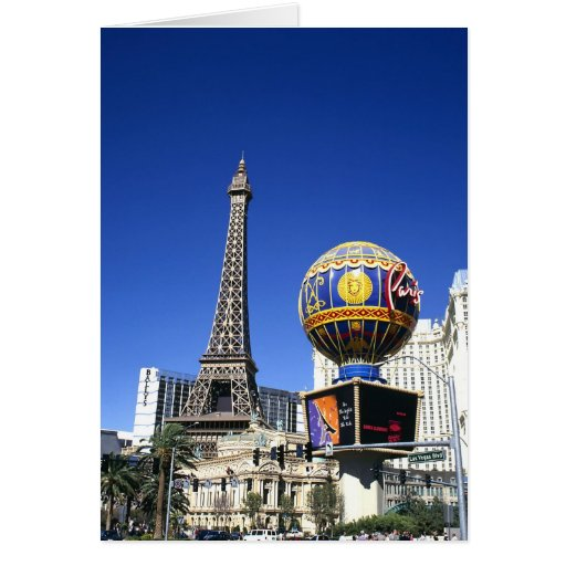 Hotel de Las Vegas París Tarjetas