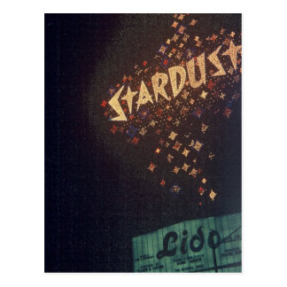 Hotel de Las Vegas Stardust del vintage Postales