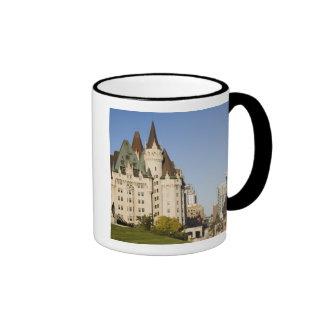 Hotel de Laurier del castillo francés en Ottawa, O Taza