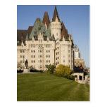 Hotel de Laurier del castillo francés en Ottawa, Tarjeta Postal