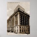 Hotel de Louisville Kentucky Seelbach Poster